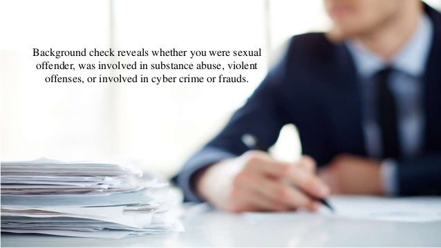What A Employment Background Check Can Reveal
