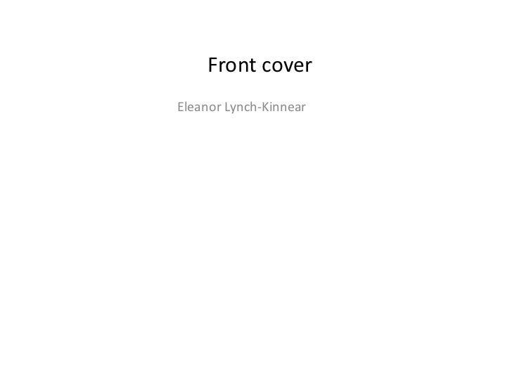 Front coverEleanor Lynch-Kinnear