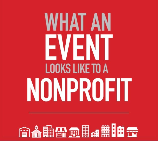Here is a BEHIND-THE-SCENES look at      the world of nonprofit events.  {source: 2012 Constant Contact Attitudinal Survey}