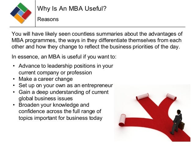 Why MBA? - YouTube