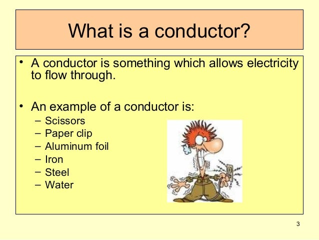 Tin Foil Conductor : ‫what are conductors and insulators نسخة