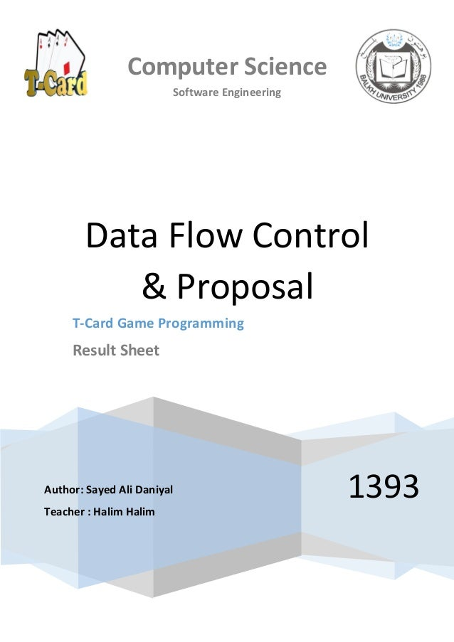 computer science software engineering 1393 data flow control proposal t card game programming result - Software Engineering Data Flow Diagram