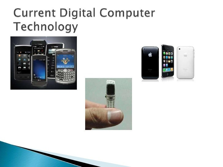 The Evolution Of Digital Computers