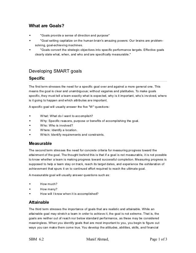 """What are Goals?       """"Goals provide a sense of direction and purpose""""       """"Goal setting capitalize on the human brain..."""