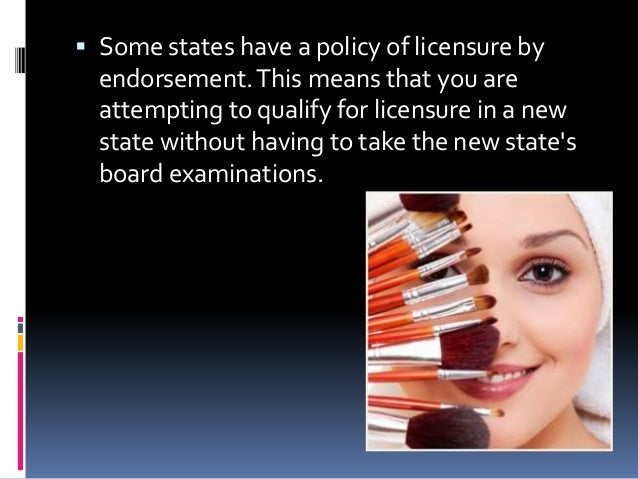 what is an endorsement on a license