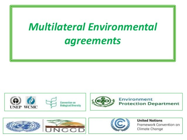 What Are Multilateral Environmental Agreements