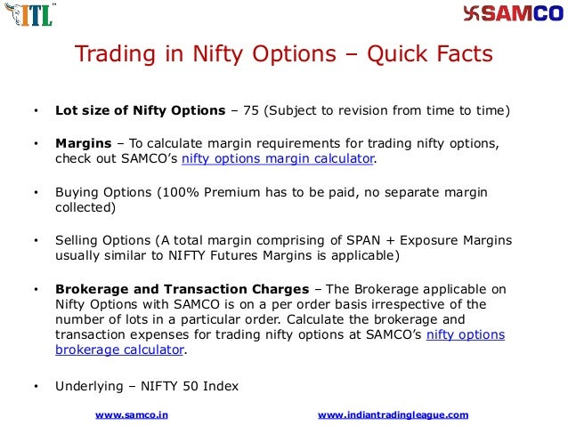 Tips to trade in nifty options