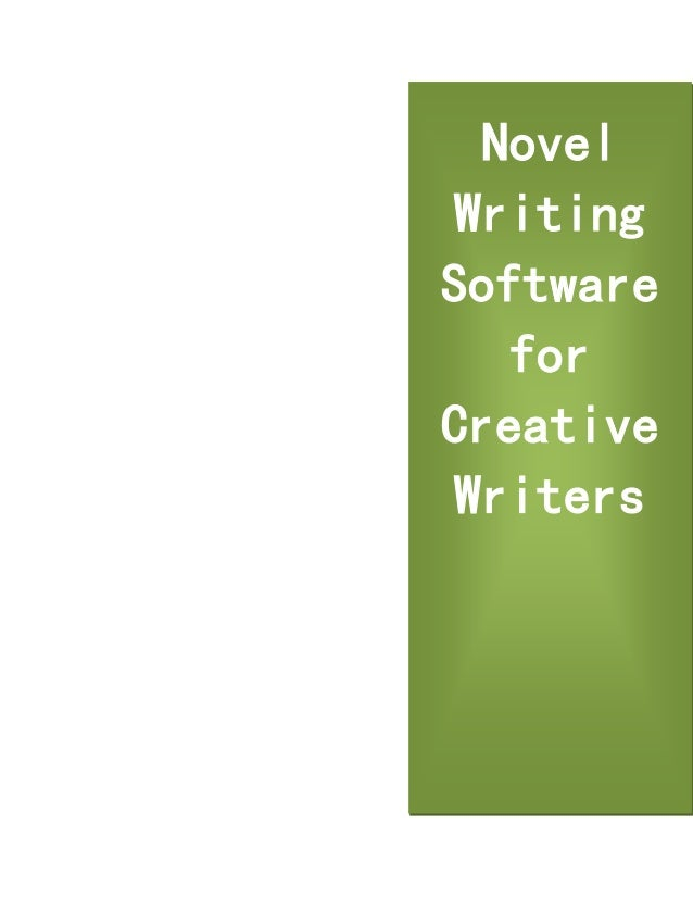 software for creative writing