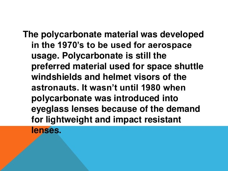 The lenses typically considered 'coke bottle  bottoms' are considered to be the past  generations of lenses. One remedy to...