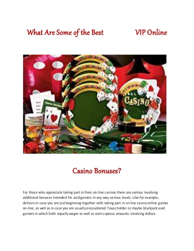 what are online casino bonuses