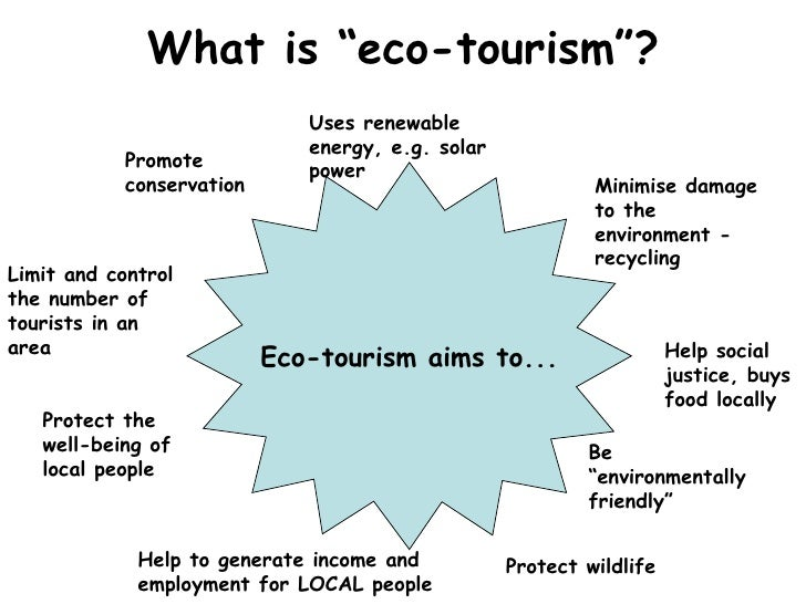 advantages and disadvantages of ecotourism Introductory lesson to tourism in kenya before moving onto ecotourism  helped them to formulate their own ideas around the advantages and disadvantages of mass.