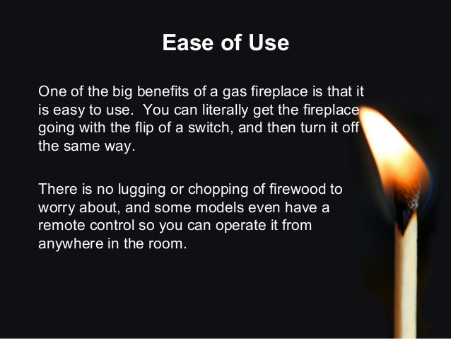 What Are The Benefits Of A Gas Fireplace