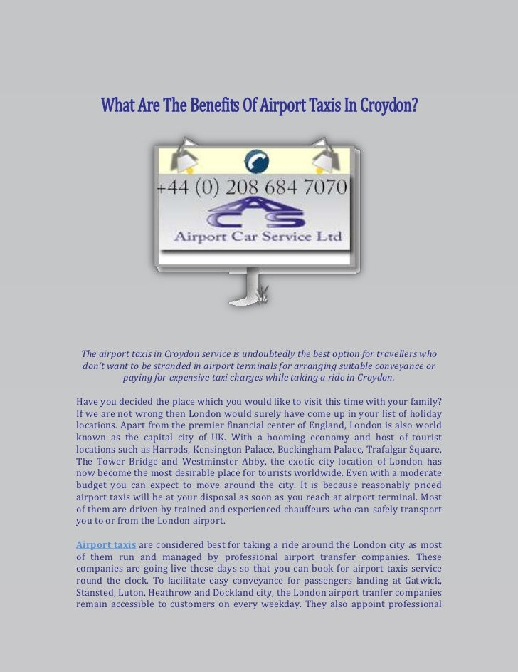 -1442927-967563<br />110045533655<br />The airport taxis in Croydon service is undoubtedly the best option for travellers ...