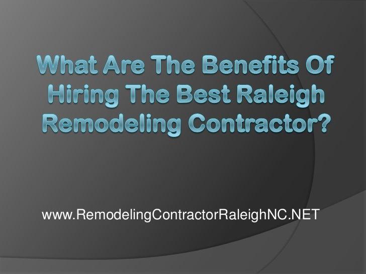 www.RemodelingContractorRaleighNC.NET