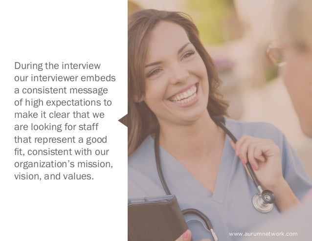 www.aurumnetwork.com During the interview our interviewer embeds a consistent message of high expectations to make it clea...