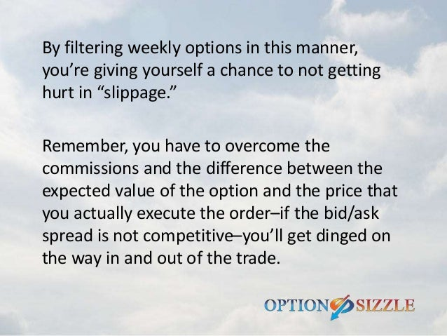 Best weekly options to trade