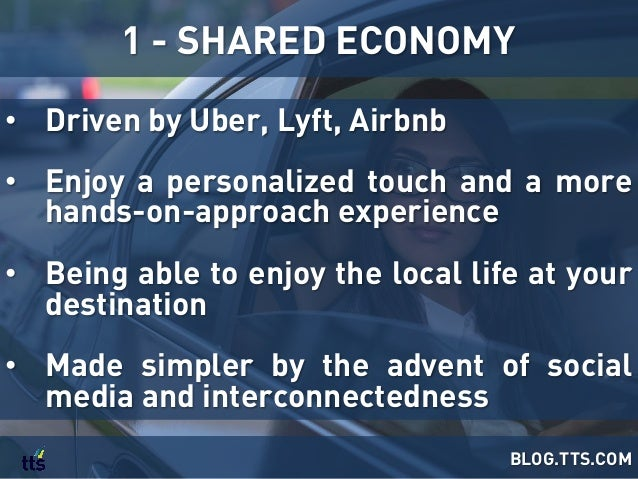 • Driven by Uber, Lyft, Airbnb • Enjoy a personalized touch and a more hands-on-approach experience • Being able to enj...