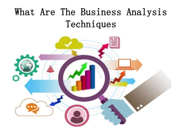 Business and marketing analysis techniques