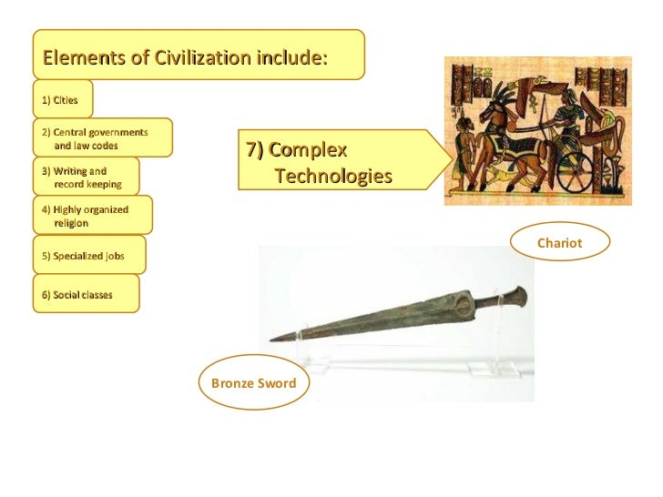 What are the characteristics of a civilization for 6 characteristics of bureaucracy