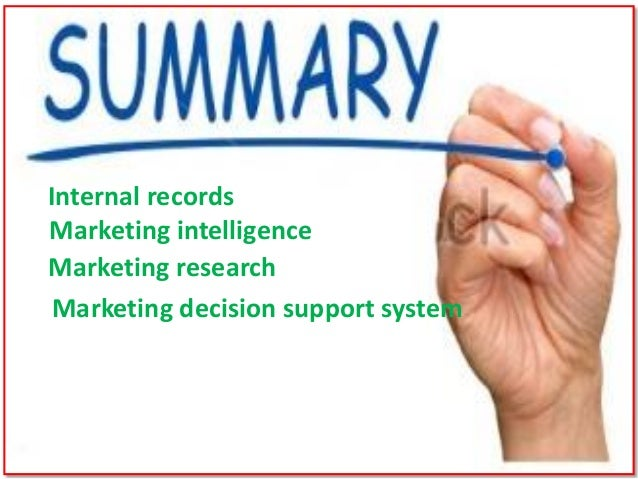 components of modern marketing information system What are the components of a modern marketing information system.