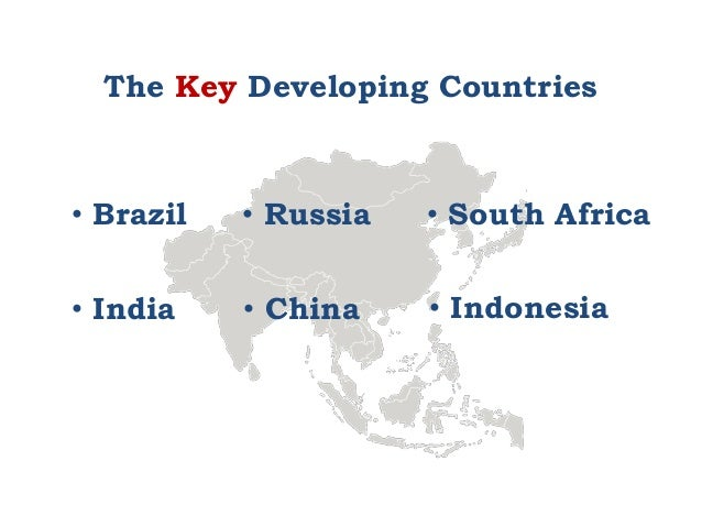 Difference Between Developed Countries and Developing Countries
