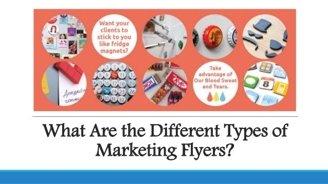 Are the Different Types of Marketing Flyers?