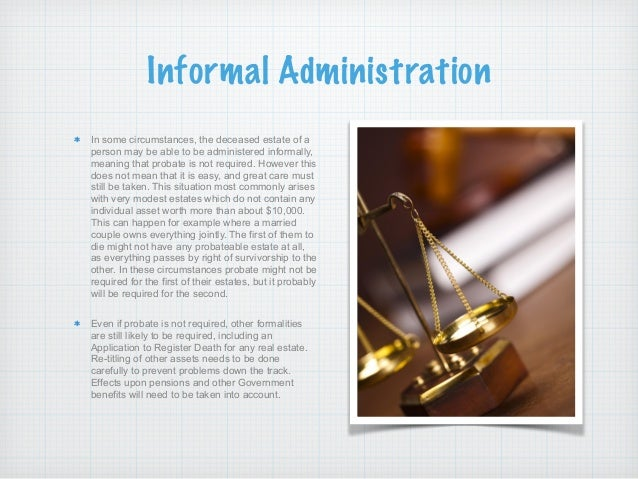 What are the different types of probate in sa 5 solutioingenieria Image collections
