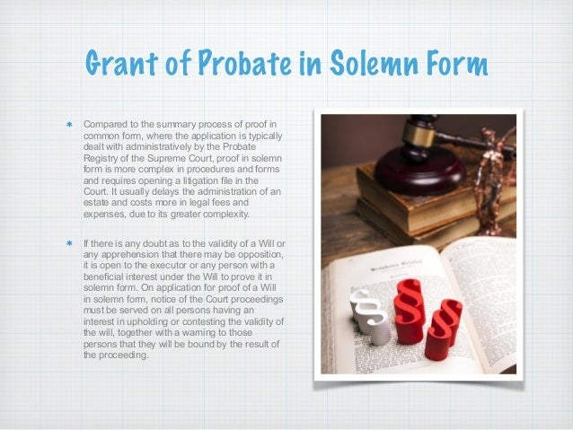 What are the different types of probate in sa 7 grant of probate solutioingenieria Image collections