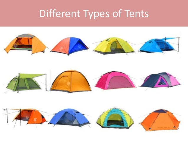 Different Types of Tents ...  sc 1 st  SlideShare & What are the different types of tents?