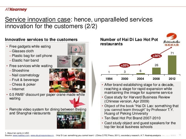 Service innovation case: hence, unparalleled servicesinnovation for the customers (2/2)Innovative services to the customer...