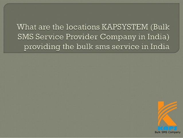 KAP Computer Solutions Pvt. Ltd., (KAPSYSTEM) pioneer in Bulk SMS Solutions / Bulk SMS Services. Our mission is to provide...