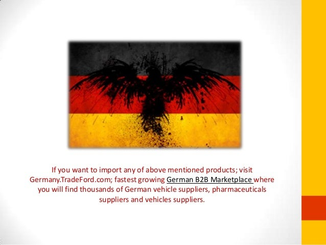 What Are The Major Exports of Germany?