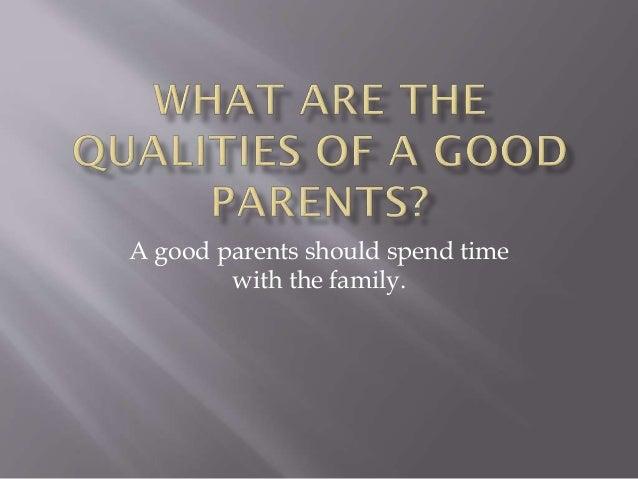 About parents essay god is good