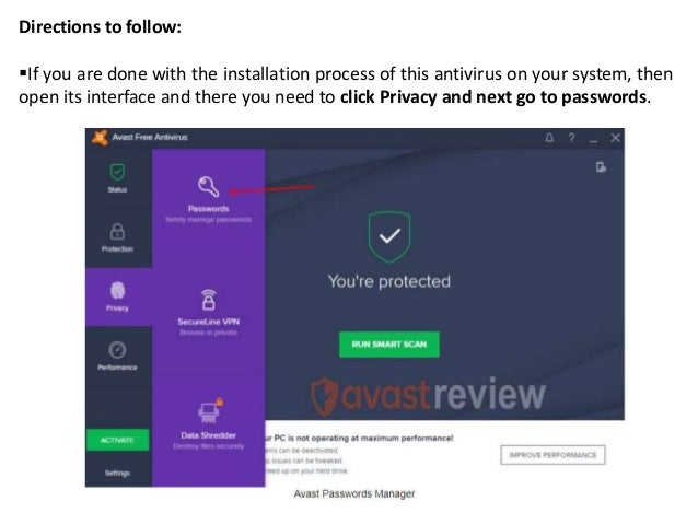 avast password extension for chrome not working