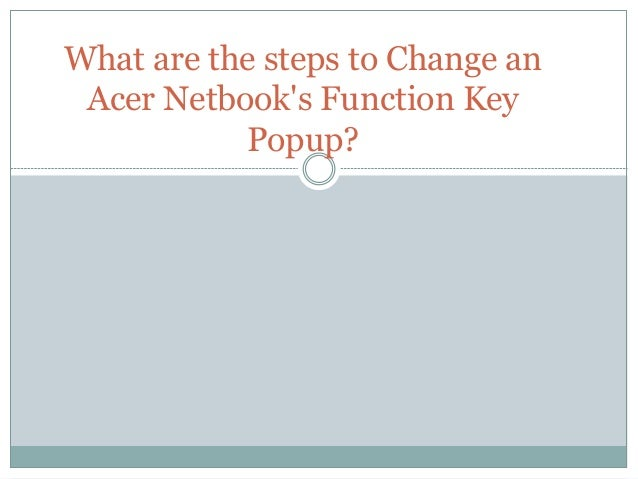 how to change function keys win7