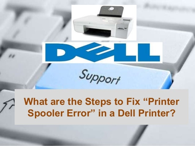 how to solve spooler problem in printer