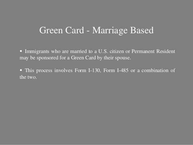 What are the ways to Get a Green Card