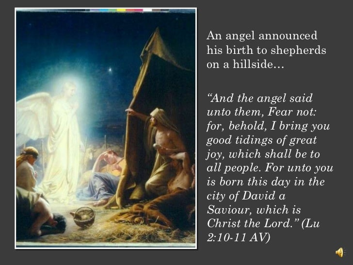 What are you doing with Jesus – Who Announced the Birth of Jesus
