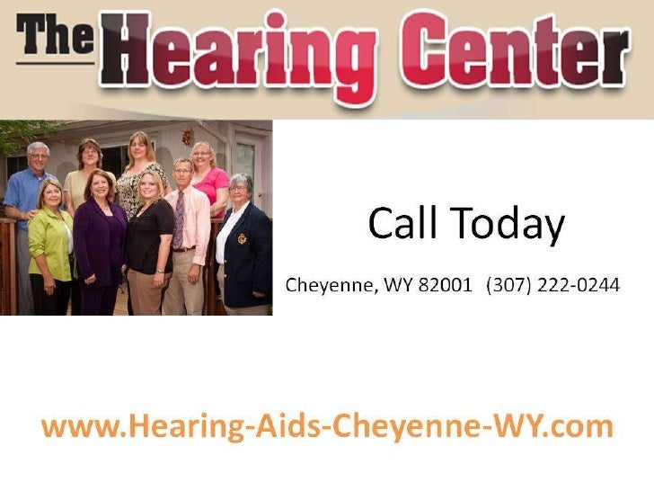 (307) 222-0244www.Hearing-Aids-Cheyenne-WY.com  What Are YourHearing Aid Options?