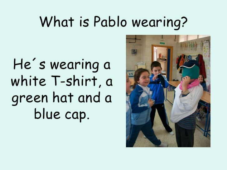 What Are You Wearing Slide 3
