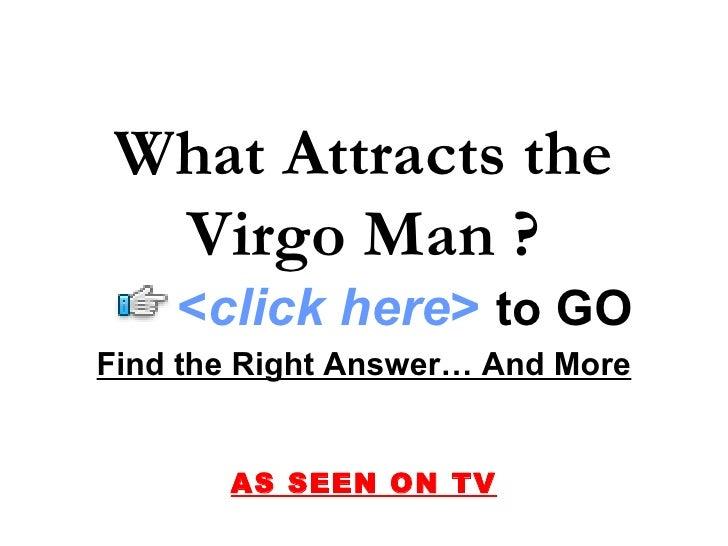 Attract virgo male