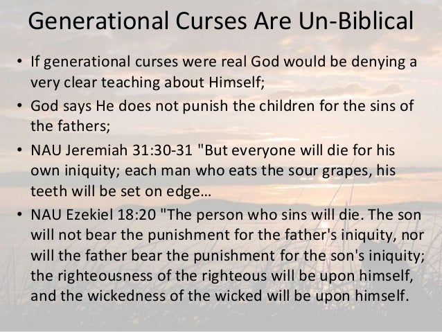 What Authority Does Satan Have, and what about generational curses?, …