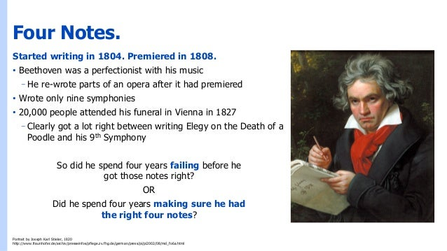 What Beethoven Can Teach Us About Failure Slide 2