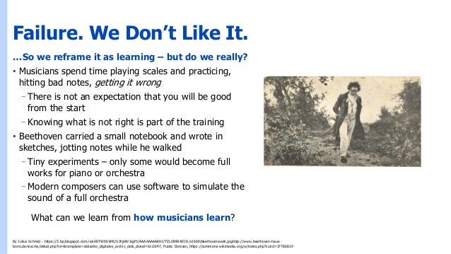 What Beethoven Can Teach Us About Failure Slide 3