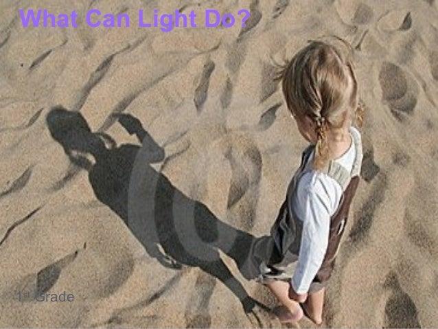 What Can Light Do?1st Grade