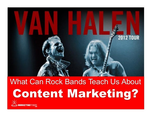How To Pick The Right LinkedIn Group @GerryMoran What Can Rock Bands Teach Us About Content Marketing?