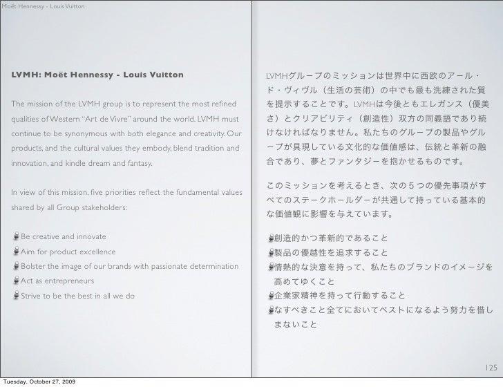 Moët Hennessy - Louis Vuitton        LVMH: Moët Hennessy - Louis Vuitton                                     LVMH      The...