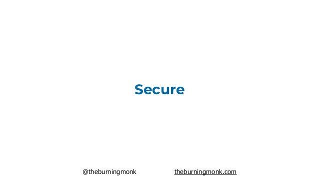 @theburningmonk theburningmonk.com Secure