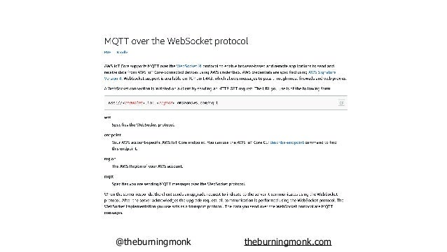 @theburningmonk theburningmonk.com requires sig v4 signing (possibly using credentials obtained through Cognito Identity P...
