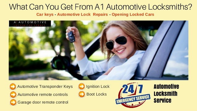 What Can You Get From A1 Automotive Locksmiths? Car keys - Automotive Lock Repairs - Opening Locked Cars Automotive Transp...